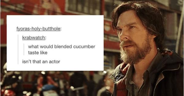 17 Times Tumblr Had Too Much Fun With Benedict Cumberbatch ...