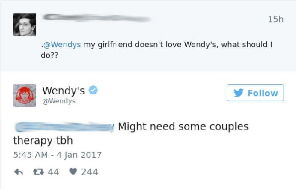 Of The Most Hilariously Sarcastic Comebacks From Wendys - 24 hilarious comebacks wendys twitter account