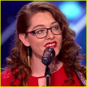 Deaf Singer Mandy Harvey Blows 'AGT' Judges Away, Gets Simon Cowell's Golden Buzzer! (Video)