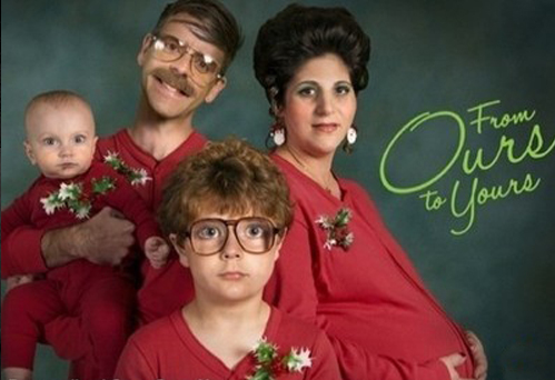 weird christmas family gallery
