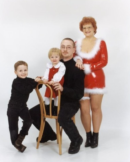 worst family christmas portraits