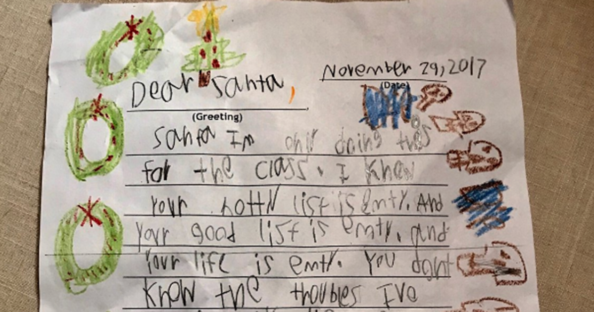 6 yr olds skeptical letter to santa is hilariously hardcore 6 yr olds skeptical letter to santa is hilariously hardcore virascoop spiritdancerdesigns Gallery