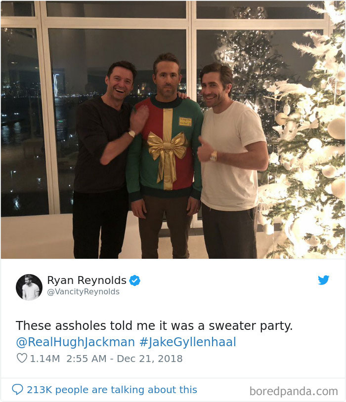 These A**holes Told Me It Was A Sweater Party