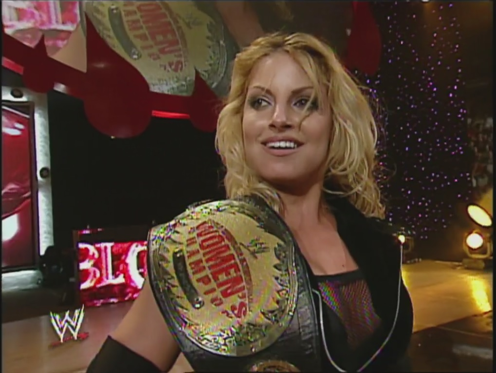 Image result for WWE Bad Blood 2004 Women's Championship