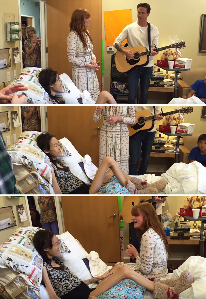 This Girl Gets Her Dying Wish Of Being Serenaded By Florence And The Machine
