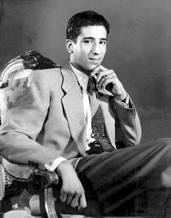 King Salman Of Saudi Arabia At 19, In 1954