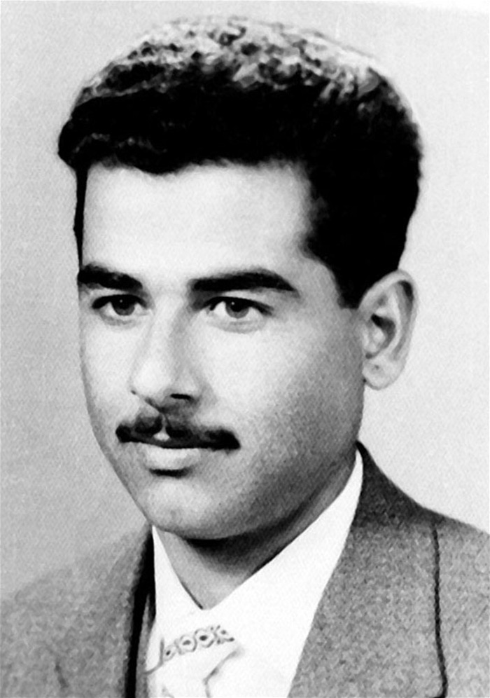 Young Saddam Hussein, The Former President Of Iraq
