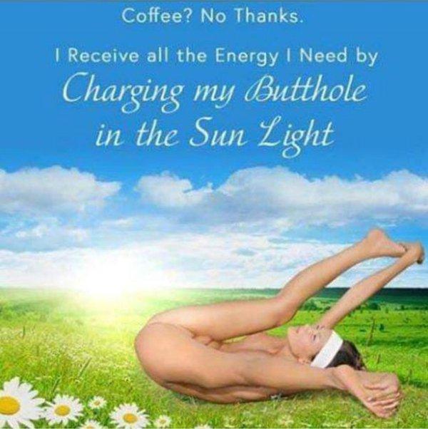 butthole sunning