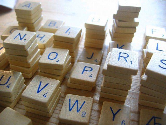 scrabble letters photo